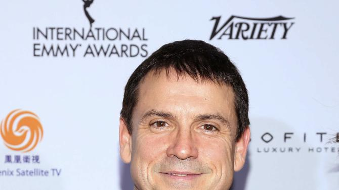 Actor Claude Legault arrives for the 42nd International Emmy Awards in New York