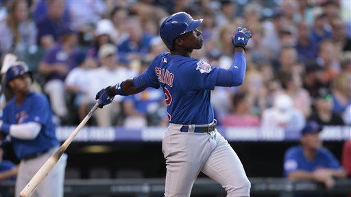 Samardzija pitches Cubs past Rockies, 3-1