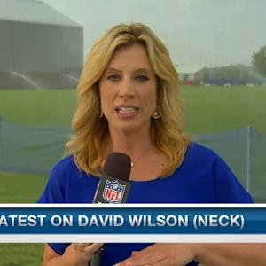 Latest on New York Giants running back David Wilson