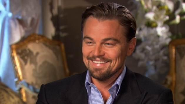 Leonardo DiCaprio chats with Access Holylwood at the 'The Great Gatsby' junket on April 28, 2013 -- Access Hollywood