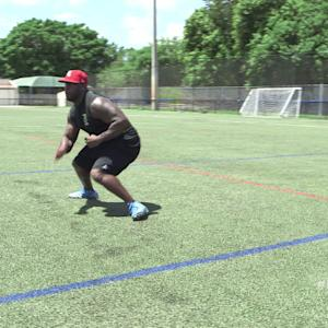 NFL Up!: Lateral Shuffle Wave Drill