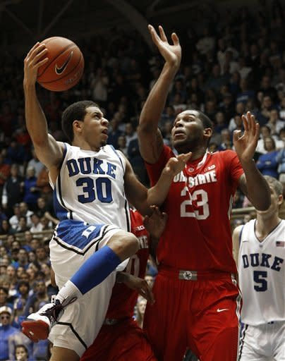 No. 2 Duke rallies past No. 4 Ohio State 73-68