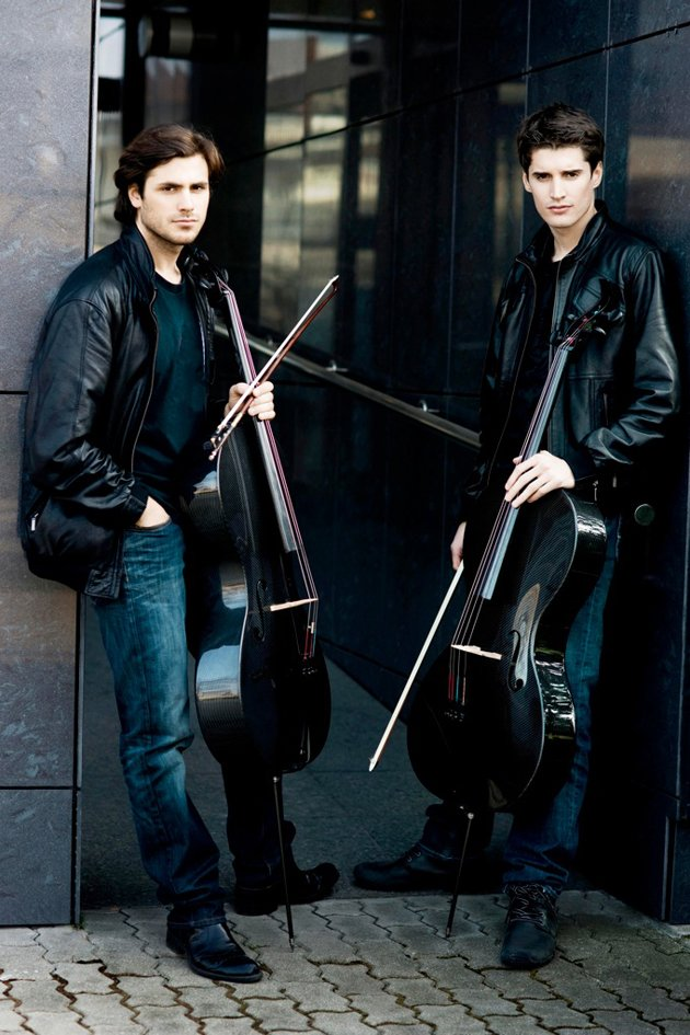 Stjepan Hauser and Luka Sulic make up 2Cellos. (Photo courtesy of Sony Music)