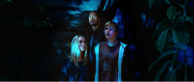 AnnaSophia Robb Alexander Ludwig Dwayne 'The Rock' Johnson Race to Witch Mountain Production Stills Walt Disney 2009