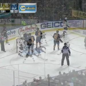 Boston Bruins at Buffalo Sabres - 10/30/2014