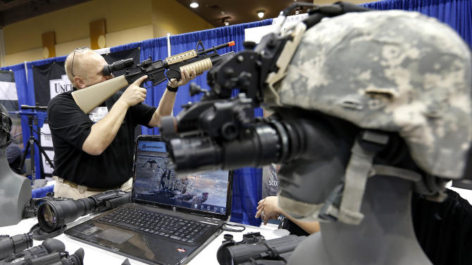 Border security expo begins amid fed spending cuts