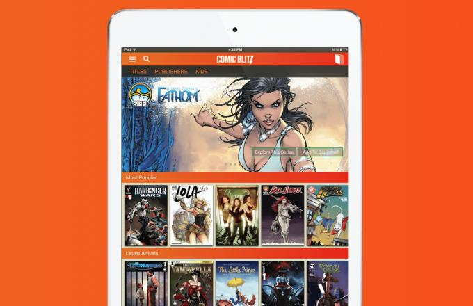 Introducing ComicBlitz, the Netflix of Comic Books