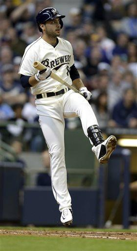Weeks hits 2-run HR, Brewers beat White Sox 5-4
