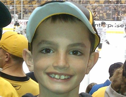 Family handout photo of Martin Richard