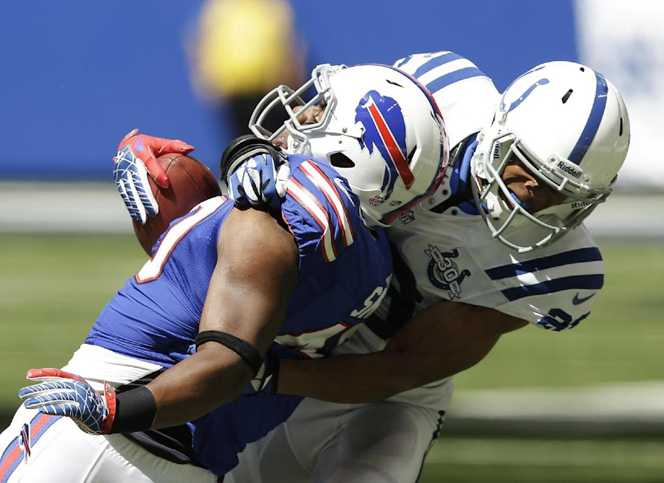 Manuel's good start leads Bills past Colts 44-20