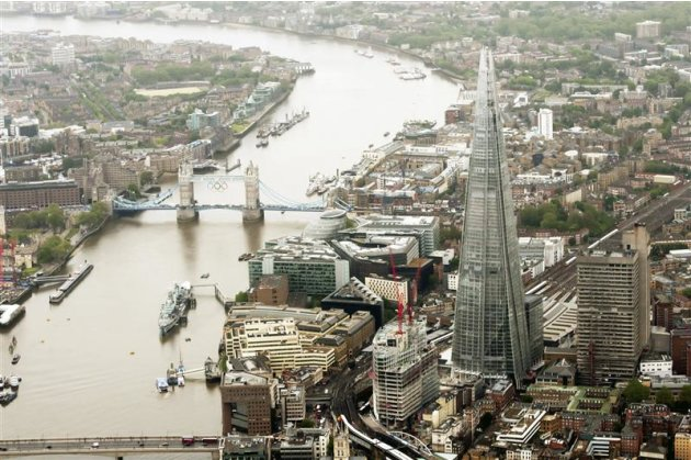 The Shard is seen in an undated&nbsp;&hellip;