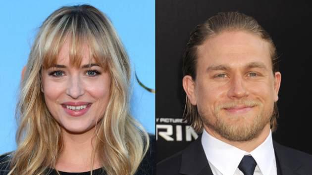Dakota Johnson, Charlie Hunnam -- Getty Images