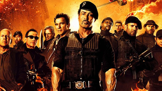 &#39;The Expendables 2&#39; Tops the Box Office