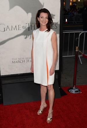 Michelle Fairley arrives at the premiere of HBO's 'Game Of Thrones' Season 3 at TCL Chinese Theatre on March 18, 2013 in Hollywood -- Getty Images