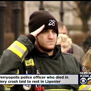 Hundreds Expected At Funeral For Perryopolis Police Officer