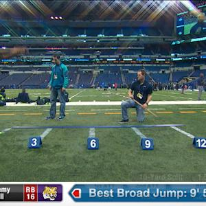 2014 Combine workout: Jeremy Hill