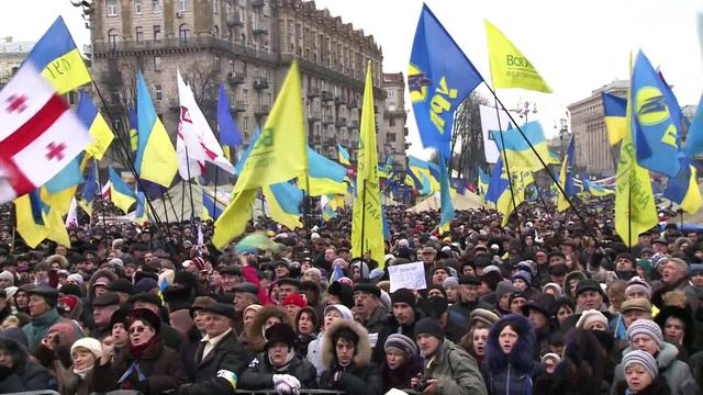 Ukraine's pro-Russian government faces growing protests