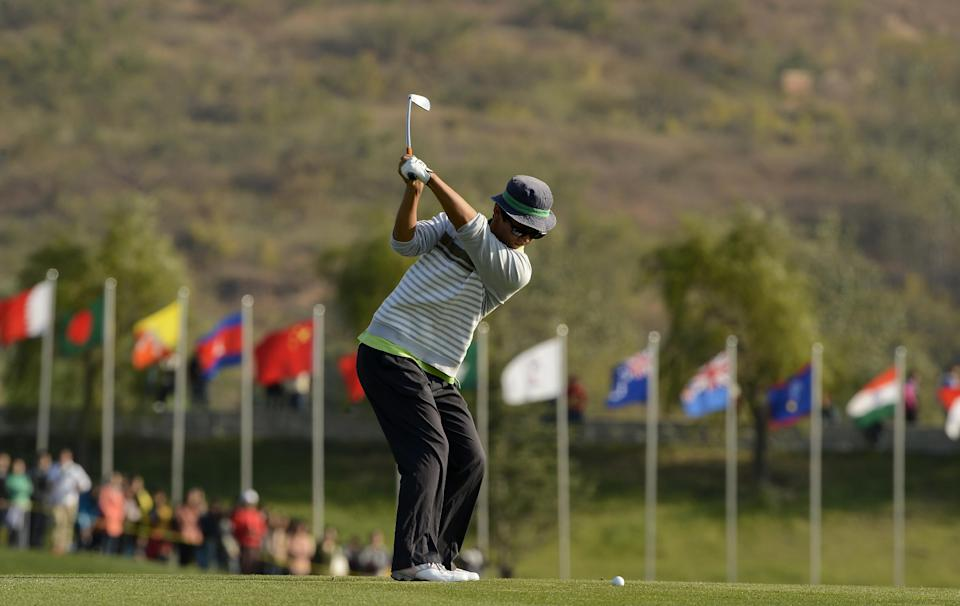 Lee leads by 1 shot at Asia-Pacific Amateur