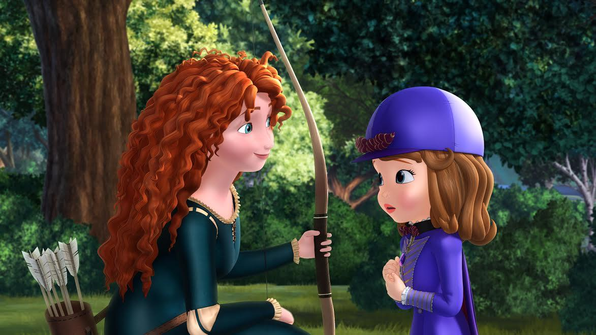 'Sofia The First' Voice Cast Loads Up & Recruits Merida From 'Brave'