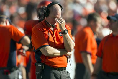 Scott Shafer reportedly fired as Syracuse coach