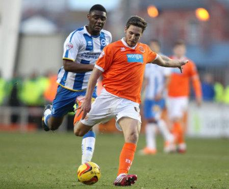 Soccer - Sky Bet Championship - Blackpool v Brighton and Hove Albion - Bloomfield Road