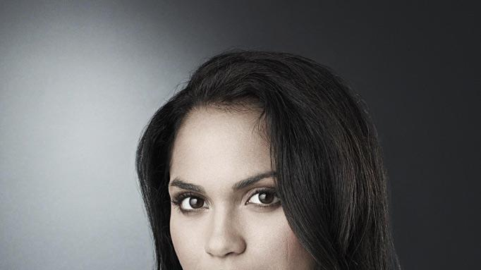 "Monica Raymund stars as Ria Torres in ""Lie To Me."""