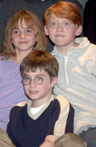Emma, Harry and Rupert