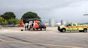 An MH-60 aircrew with Coast Guard Air Station Clearwater…