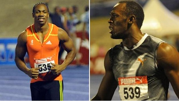 Video: Yohan Blake fa 9&quot;85, Bolt trema