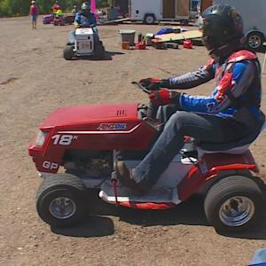Finding Minnesota: Elk River Lawn Mower Racing