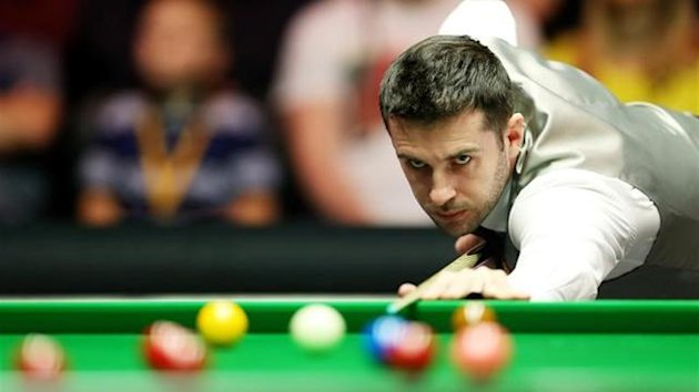 Mark Selby against Shaun Murphy in 2014 Masters semi final