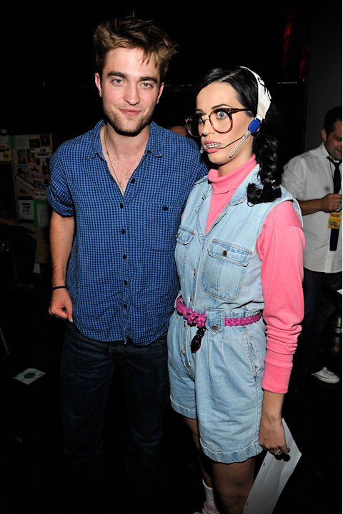 2010 Teen Choice Awards Robert Pattinson Katy Perry