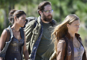 Daniella Alonso, Zak Orth and Tracy Spiridakos | Photo Credits: Brownie Harris/NBC