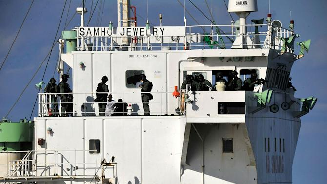 South Korean Forces Rescue Hijacked Freighter