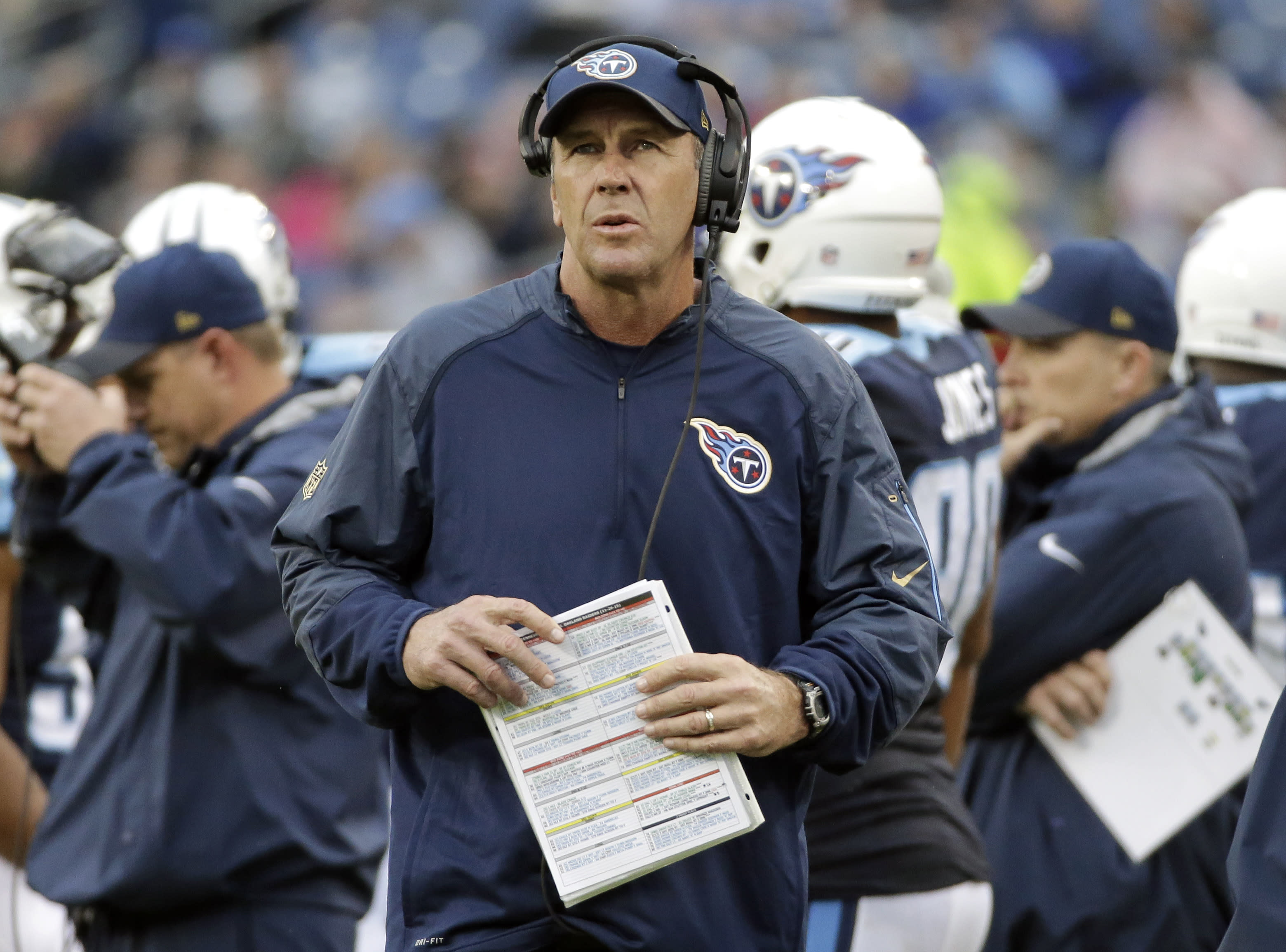Coach: NFL called play in Titans' loss 'poorly officiated'