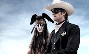 Johnny Depp is Tonto and Armie Hammer is the Lone Ranger in a 2013 live-action film that, judging from the trailer, is decidedly darker than previous takes on the duo.