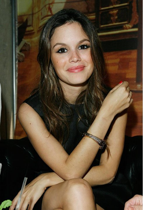 Rachel Bilson inside the Saks Fifth Avenue &amp; Style.com host Christian Louboutin for intimate cocktail party at the S-Bar. 