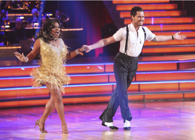 Sherri Shepherd and Val Chmerkovskiy …