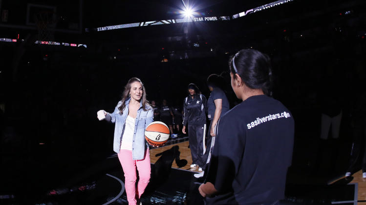 WNBA: Indiana Fever at San Antonio Silver Stars