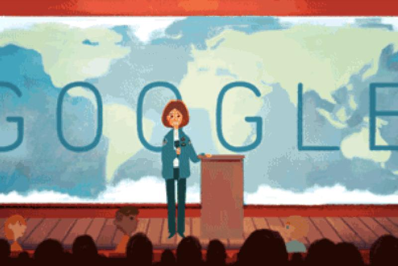 Google Doodle salutes Sally Ride, the first American woman in space