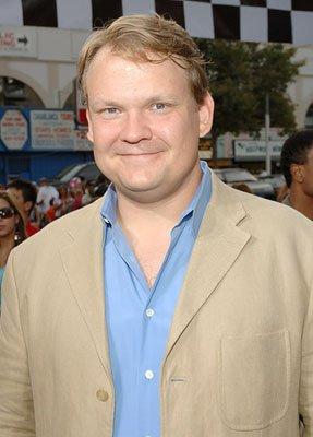 Andy Richter at the LA premiere of Columbia's Talladega Nights: The Ballad of Ricky Bobby