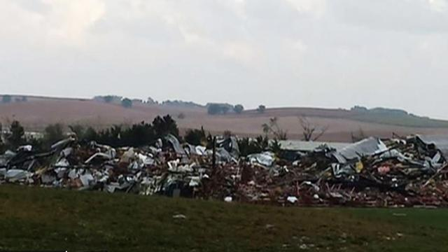 Tornadoes sweep Great Plains, cause millions in damages
