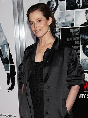 Sigourney Weaver at the New York City premiere of Columbia Pictures' Vantage Point