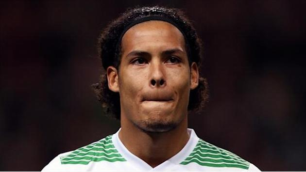 Scottish Premiership - Van Dijk enjoying debut season