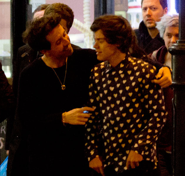Harry Styles alert! GUESS whose birthday party omg! accidentally