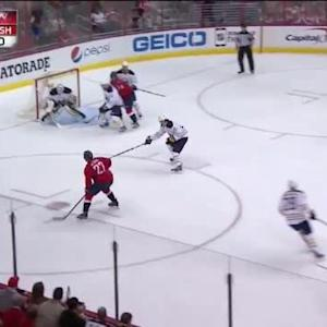 Jhonas Enroth Save on Karl Alzner (08:42/1st)