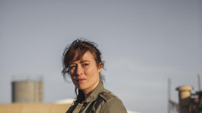 """This undated publicity photo released by Columbia Pictures Industries, Inc. shows Jennifer Ehle, as Jessica, a member of the elite team of spies and military operatives stationed in a covert base overseas, who secretly devoted themselves to finding Osama Bin Laden in Columbia Pictures' new thriller, """"Zero Dark Thirty,"""" directed by Kathryn Bigelow. (AP Photo/Columbia Pictures Industries, Inc., Jonathan Olley)"""