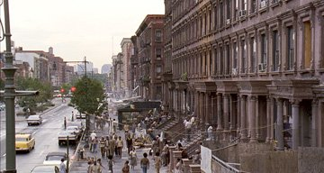 The streets of 1970s Harlem in Universal Pictures' American Gangster