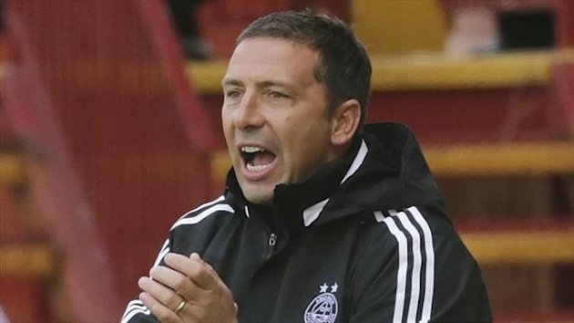 Derek McInnes admitted he was disappointed with his behaviour