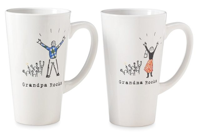 Grandparents Rock Mugs